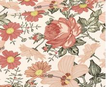 Sommersweat - Blumenwiese - Groß - Rose - Bio Qualität - abby and me