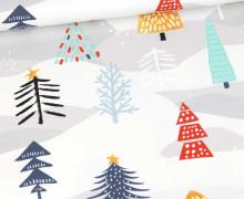 Sommersweat - Treeetastic - Grau - Weihnachten - Weiß - Bio Qualität - abby and me