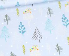 Sommersweat - Treeetastic - Weihnachten - Hellblau - Bio Qualität - abby and me