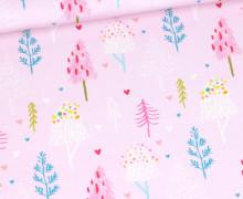 Sommersweat - Treeetastic - Weihnachten - Rosa - Bio Qualität - abby and me