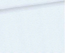 Jersey - Küstenbande - Seebär - Streifen - Kombistoff - Hellblau - Bio-Qualität - Treeebird - abby and me