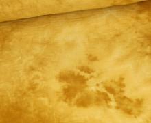 Musselin - Muslin - Double Gauze - Batik-Love - Uni - Senfgelb