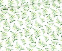 Sommersweat - Kleine Waldentdecker - Kombistoff - Weiß - Bio Qualität - abby and me