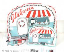Kissenstoff - DIY - Kissen-Set - Little Christmas Camper - Weihnachten - Little Loveling - abby and me