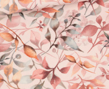 Sommersweat - Blushbloom - Blassrosa - Bio Qualität - abby and me