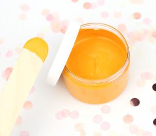 Siebdruckfarbe - Mandarine - 100ml - wasserbasiert - für Textil