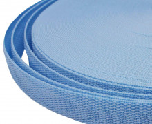 1 Meter Gurtband - Hellblau (183) - 20mm