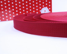 1 Meter Gurtband - Rot (148) - 30mm