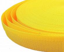1 Meter Gurtband – Gelb (111) – 30mm