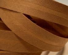 3 Meter Schrägband-30mm breit -Rost Braun-