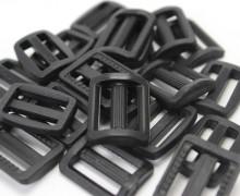 10 Schieber aus Kunststoff für 20mm Band