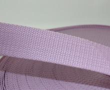1 Meter Gurtband - Flieder (165) - 30mm