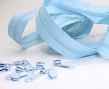 2m Endlosreißverschluss *S+10 Zipper - Hellblau (183)