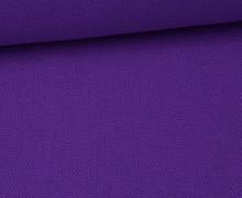 Canvas Stoff - feste Baumwolle - Uni - 145cm - Lila