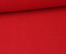 Canvas Stoff - feste Baumwolle - Uni - 145cm - Rot