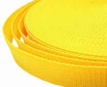 1 Meter Gurtband - Gelb (111) - 25mm