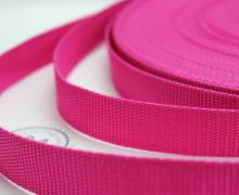 1 Meter Gurtband - Pink (146) - 25mm