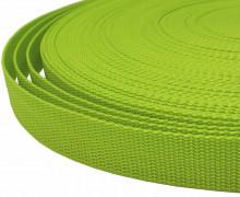 1 Meter Gurtband - Apfelgrün (234) - 25mm