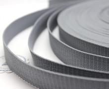 1 Meter Gurtband - Graphitgrau (319) - 25mm