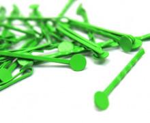 10 Haarnadeln mit Pin- Hair Clip - Spangen - Grün