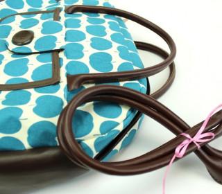 Taschengriffe in Braun Leder - Henkel 50cm