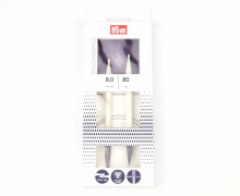1 Rundstricknadel - Ergonomics - 8,0/80cm - Prym - Weiß