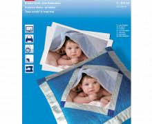 5 DIN A4 Kreativ-Stoff - Zum Bedrucken - Baumwolle - Prym - Weiß
