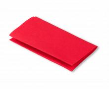 1 Flickstoff - Baumwolle - Aufbügelbar - 12x45cm - Prym - Rot