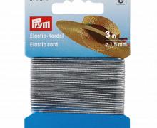 Elastic Kordel - 3m - 1,5mm - Prym - Silber