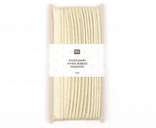 3 Meter Paspelband – 1cm x 3m – Zugeschnitten – Rico Design – Gold