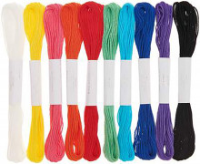 Stickgarn Set - Rainbow - 10 Stück - Rico Design