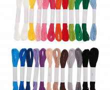 Stickgarn Set - Multicolour Classic - 24 Stück - Rico Design