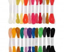 Stickgarn Set - Multicolour Fashion - 24 Stück - Rico Design
