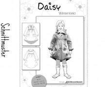 Papier-Schnittmuster - Winterkleid Daisy - Größe 86 - 140