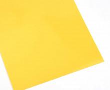 A4 Bügelflock – Bügelfolie – Honiggelb