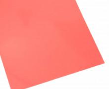 A4 Neon Bügelflock – Bügelfolie – NEON-Rot