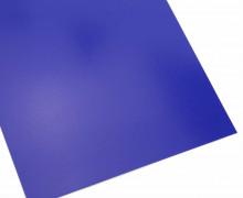 A4 Bügelflock – Bügelfolie – Blau