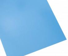A4 Neon Bügelflock – Bügelfolie – NEON-Blau