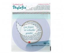 50 Meter Stylefix - Klebeband - zum Fixieren - Bänder - Stoffe - Weiß