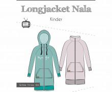 Schnittmuster - Longjacket - Nala - Kinder - 74-164 - Fadenkäfer