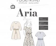 Schnittmuster - Aria - Damen - Gr. 32 -  58 - Fadenkäfer