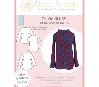 Schnittmuster - Olivia-Bluse women No. 51 - lillesol&pelle.