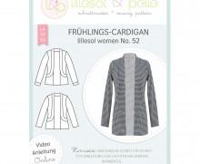 Schnittmuster - Frühlings-Cardigan women No. 52 - lillesol&pelle.