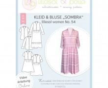 Schnittmuster - Kleid & Bluse Sombra women No. 54 - lillesol&pelle.