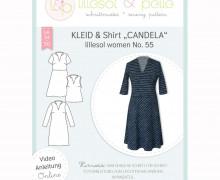 Schnittmuster - Kleid & Shirt lillesol women No.55 - lillesol&pelle.