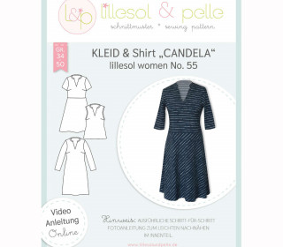 Schnittmuster - Kleid & Shirt lillesol women No.55 - lillesol&pelle.