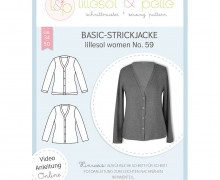 Schnittmuster – Bais-Strickjacke – women  no.59 – lillesol&pelle.
