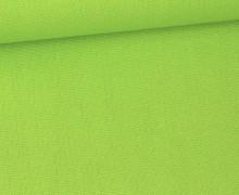 Canvas Stoff - feste Baumwolle - Uni - 145cm - Apfelgrün