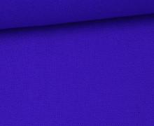 Canvas Stoff - feste Baumwolle - Uni - 145cm - Blau