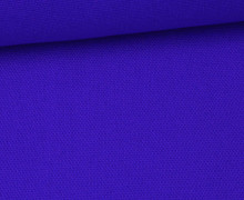 Canvas Stoff - feste Baumwolle - Uni - 145cm - Royalblau